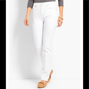 NWOT Talbots Flawless 5-Pocket Straight Leg Jeans